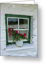 Farm House Window Greeting Card