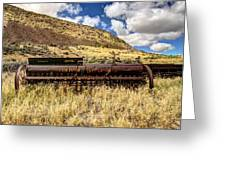 Farm Implement Greeting Card