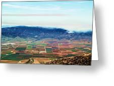 Farm Land Greeting Card