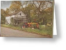 Farm Still Life Greeting Card