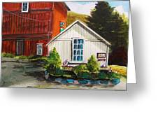 Farm Store Greeting Card by John Williams
