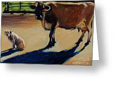 Farm Visit Greeting Card