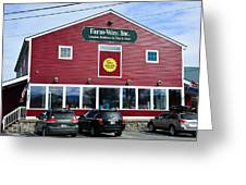 Farm- Way  Www.vermontgear.com Greeting Card
