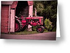 Farmall 200 Greeting Card by Robert Geary