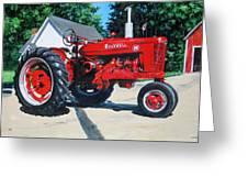 Farmall M Greeting Card