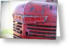 Farmall Greeting Card