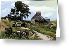 Farmed Out Greeting Card