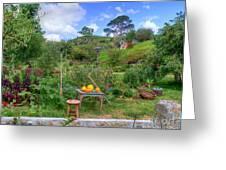 Farmer Maggot Garden Greeting Card