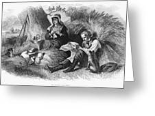 Farmers, 1872 Greeting Card