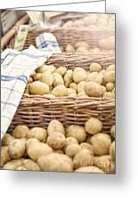 Farmers Potatoes Greeting Card