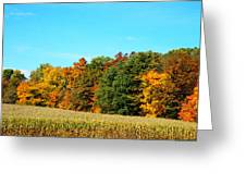Farmfield Fall Greeting Card