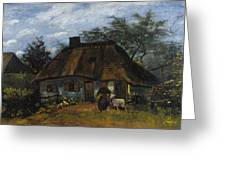 Farmhouse In Nuenen Greeting Card