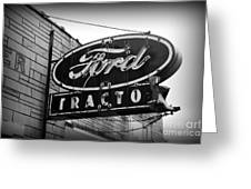 Farming - Ford Tractors Greeting Card