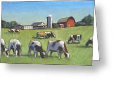 Farming In The Dell Greeting Card