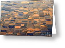 Farming In The Sky 2 Greeting Card
