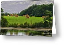 Farming Reflection Greeting Card