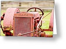 Farming Relic Greeting Card