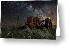 Farming The Rift Greeting Card