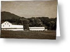 Farming The Shenandoah  Greeting Card
