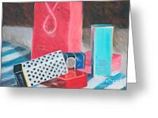 Fashion Boxes Greeting Card