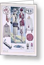 Fashion Plate, From La Femme Chic Greeting Card