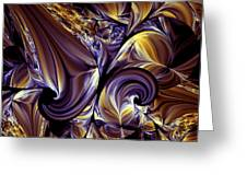 Fashion Statement Abstract Greeting Card
