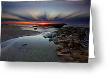 Fast Light Greeting Card by Mark Leader