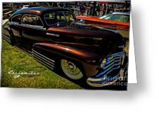 Fastback In Kandy Greeting Card