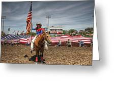 Fastest Rodeo On Earth Greeting Card