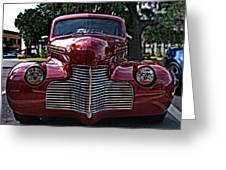 Fat Chevy Greeting Card