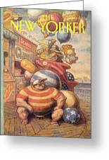 New Yorker September 6th, 1993 Greeting Card