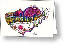 Father - 2013 - 1 Greeting Card by Suzanne Allen de Sanchez