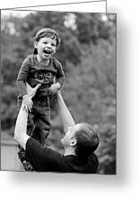 Father And Son IIi Greeting Card by Lisa Phillips