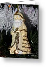 Father Christmas Ornament Greeting Card