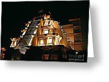 Faux Myan Pyramid Greeting Card