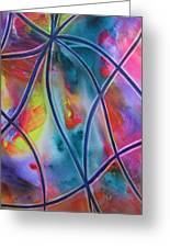 Faux Stained Glass II Greeting Card