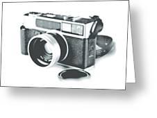 Favorite Camera Greeting Card by Robert Mollett