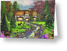 Fawn Haven Greeting Card