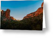 Fay Canyon Outlook Greeting Card