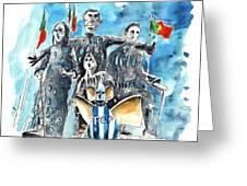 Fcporto In Vila Cha Greeting Card