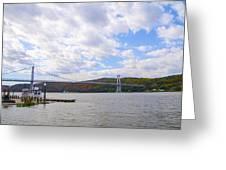 Fdr Mid Hudson Bridge - Poughkeepsie Ny Greeting Card
