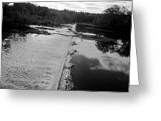 Fear River Falls Greeting Card