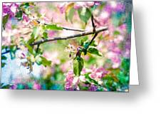 Feast Of Life 22 - Apple - The Beginning Greeting Card