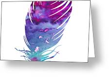 Feather 4 Greeting Card