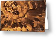 Feather Flower 2 Greeting Card