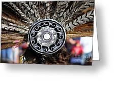 Feather Headdress Greeting Card