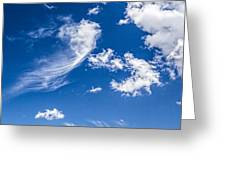 Feathertail Cloud Greeting Card