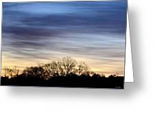 February 1 Dawn 2013 II Greeting Card