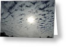 February Sky Greeting Card