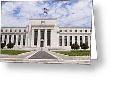 Federal Reserve Building No1 Greeting Card